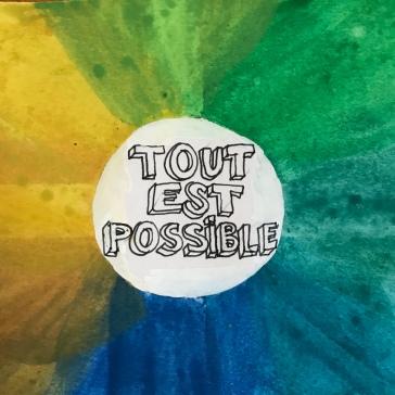 affichons nos bonnes résolutions Boite à message peinture dessin collage diy craft bricolage enfant Tout est possible et sionon