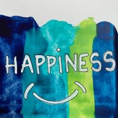 affichons nos bonnes résolutions Boite à message peinture dessin collage diy craft bricolage enfant Happiness et sinon