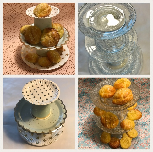 Goûter de princesse présentoir à gâteaux à étage diy craft bricolage enfant version cheap et pas cheap photo à la une