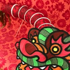 Dragon du nouvel an chinois
