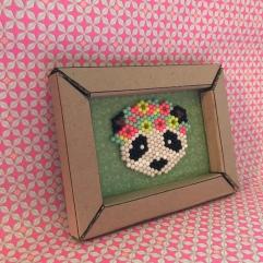 Recyclage de cartons image à la une Cadre en carton bricolage enfant craft DIY cadre en volume
