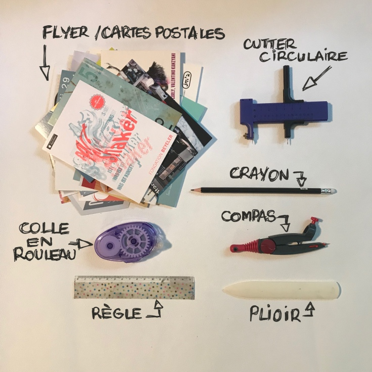 Mobile- flyer recyclage papier origami craft bricolage enfant DIY Fiche matériel