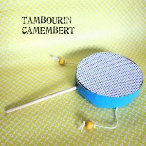 Tambourin camembert et sinon Instrument de musique recyclage DIY craft bricolage enfant