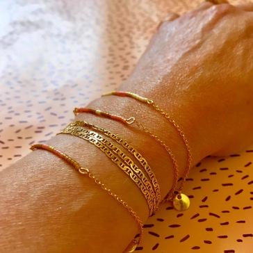 Bracelet de l'amitié bracelet d'été perles Miyuki joli fin cadeaux Image à la une