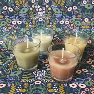 Bougies d'été, moustiques éloignés ! DIY bricolage enfant craft bougies citronnelle faites maison anti moustique recyclage été Et sinon 1