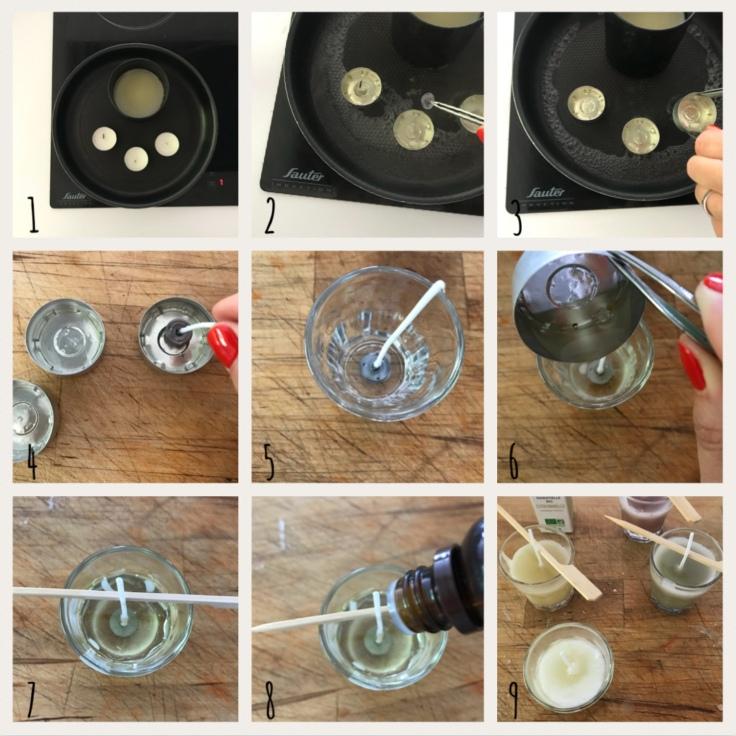 Bougies d'été, moustiques éloignés ! DIY bricolage enfant craft bougies citronnelle faites maison anti moustique recyclage été pas à pas