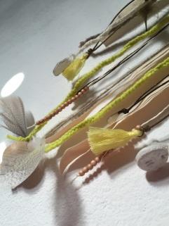 Attrape rêves indien diy bricolage enfant craft plumes ruban Et sinon jaune 2