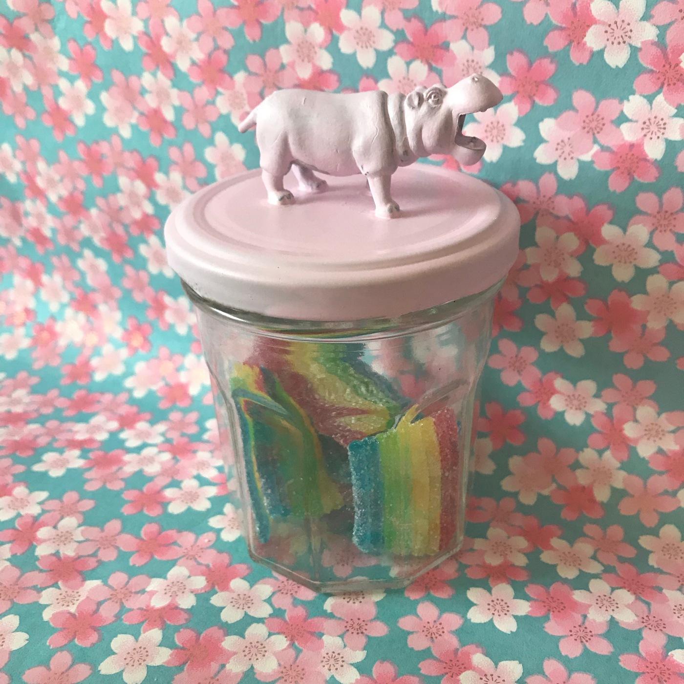 image en bocal DIY bricolage enfant craft for kids animal en plastique peint sur bocal image à la une