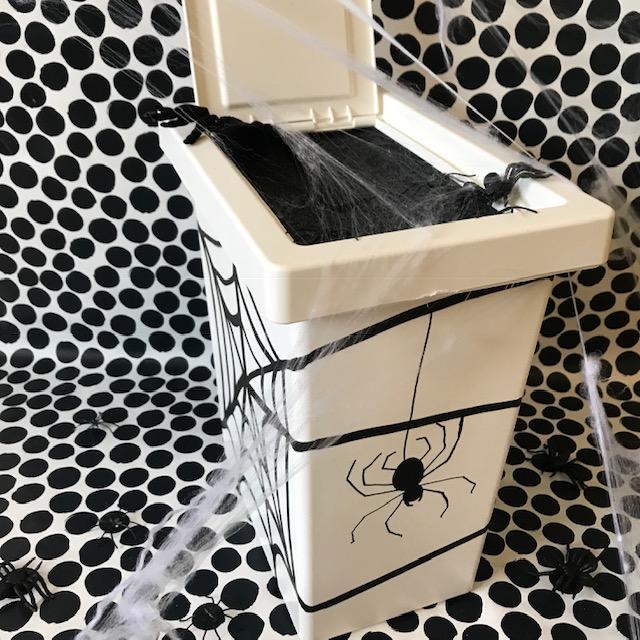 un petit avant gout d'Halloween boîte mystère craft for kids bricolage enfants DIY image à la une