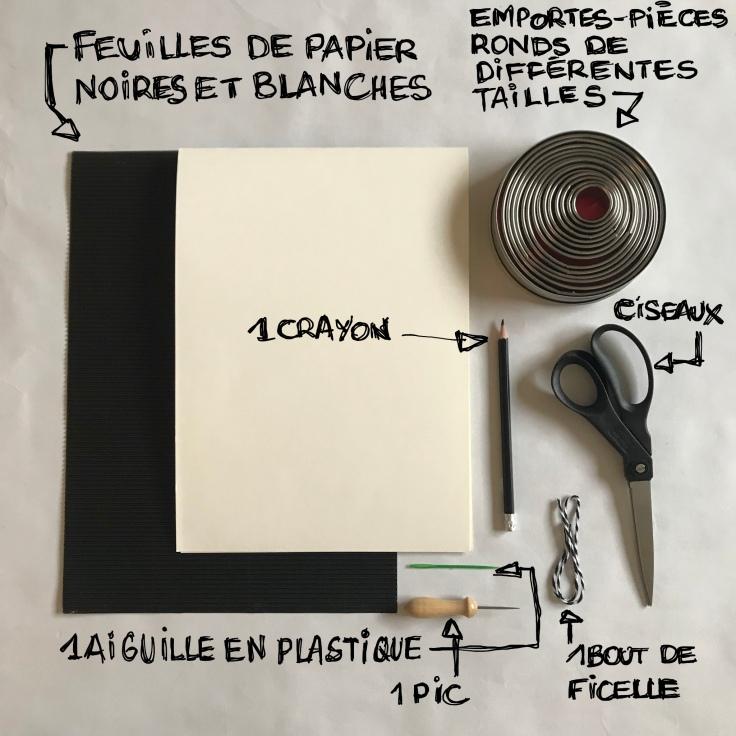 Décoration sapin pour sapin - DIY - bricolage enfant - craft for kids - papier - origami - recyclage - Fiche matériel