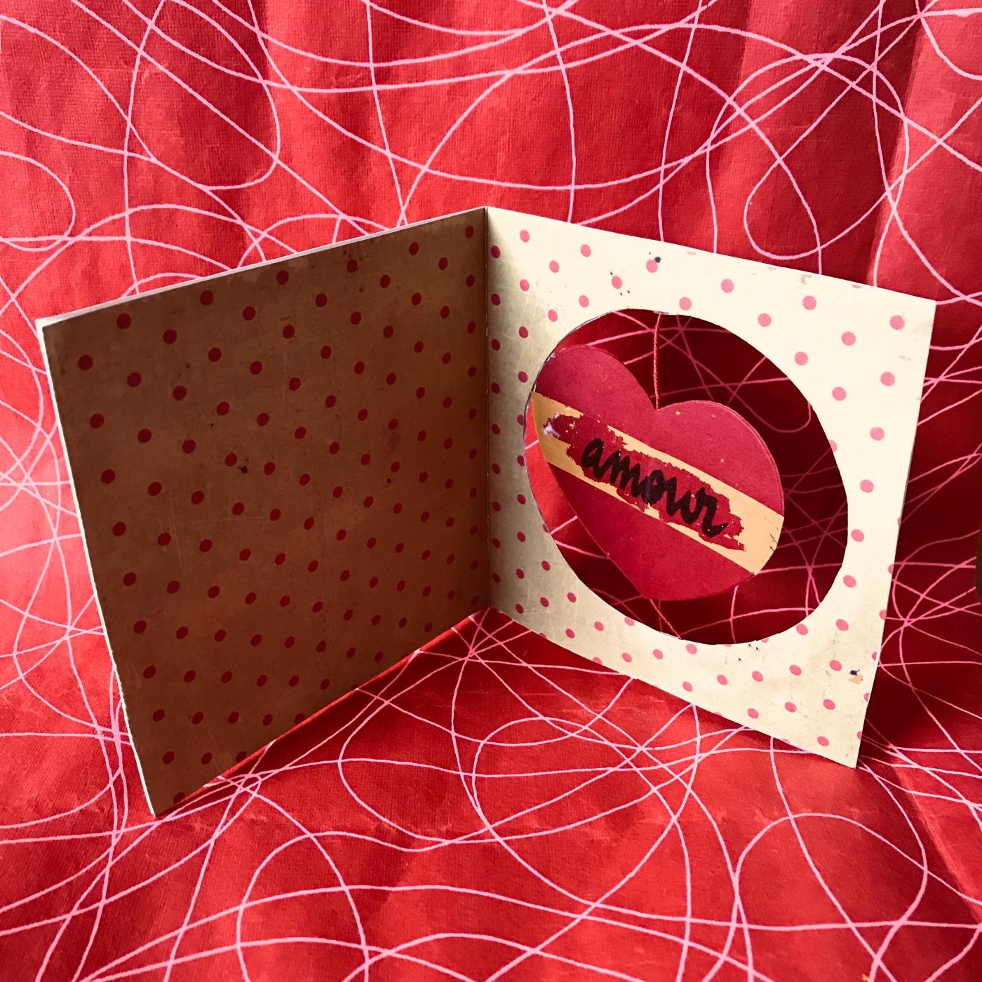Petit message à gratter pour Valentin - DIY - bricolage enfant - craft for kids - saint Valentin - carte à gratter - message d'amour -message secret - cœur - cœur qui tourne - Image à la une