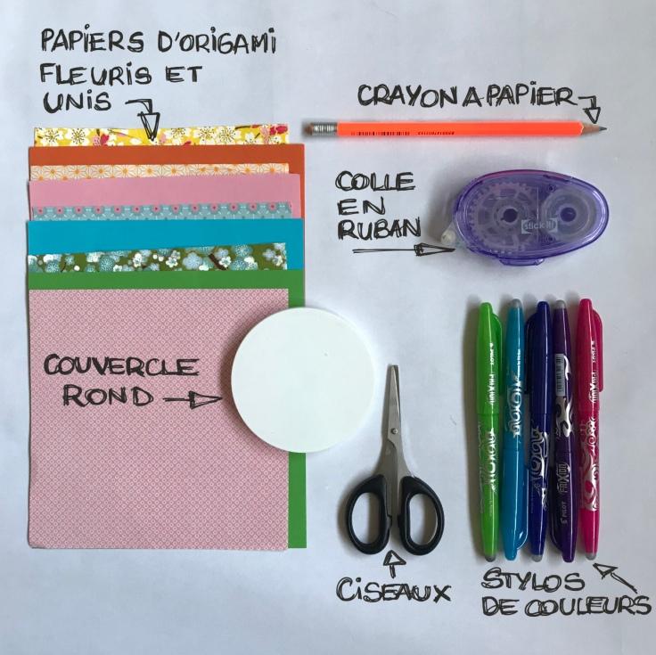 Biscuits de la fortune en papier - DIY - bricolage enfant - craft for kids - nouvel an chinois - origami - fiche matériel