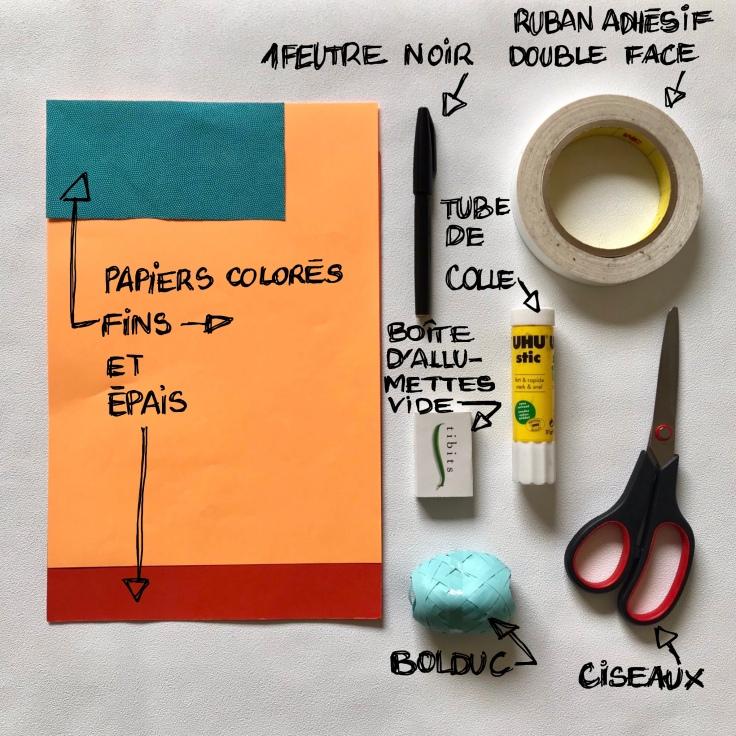 Petit poisson d'avril ... hihihi ! - bricolage enfant - DIY - craft for kids - boîte à message - blague - 1er avril - papier -