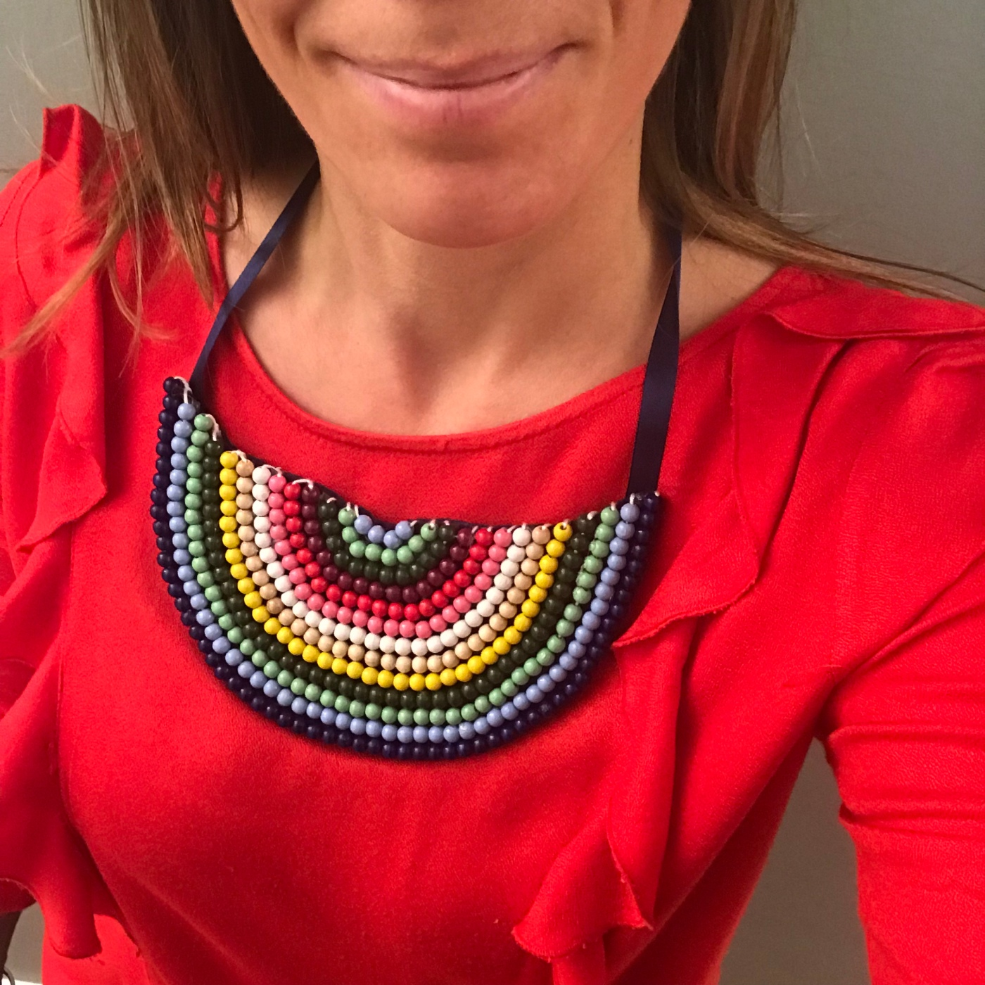 Maman je t'aime - DIY - bricolage enfant - craft for kids - cadeau fête des mères - collier de perles - image à la une