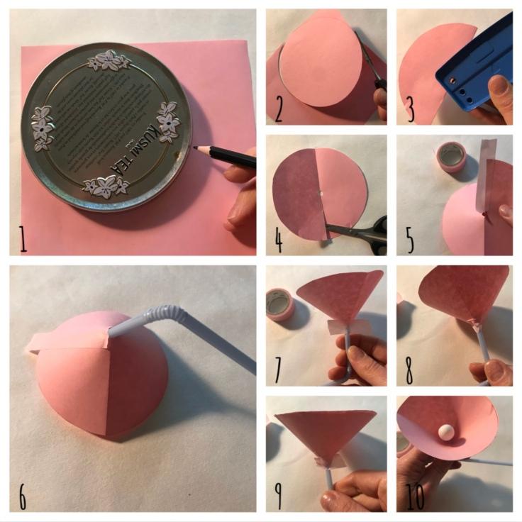 Jeux d'anniversaire - recyclage - DIY - bricolage enfant - craft for kids - ludique - papier - Pas à pas