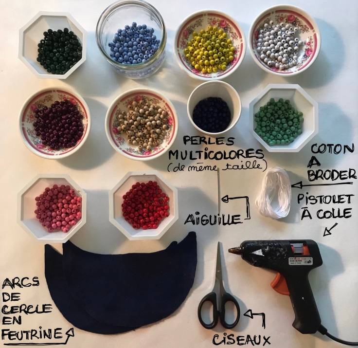 Maman je t'aime - DIY - bricolage enfant - craft for kids - cadeau de fête des mères - collier de perles -