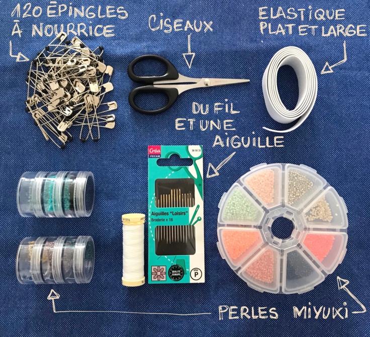 Bracelet africain miyuki - DIY - bricolage enfant - craft for kids - bracelet africain -perles - perles miyuki - épingles à nourrice - Fiche matériel