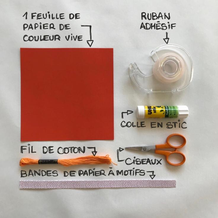 Poisson d'avril confiné - DIY - bricolage enfant - craft for kids - papier - fiche matériel
